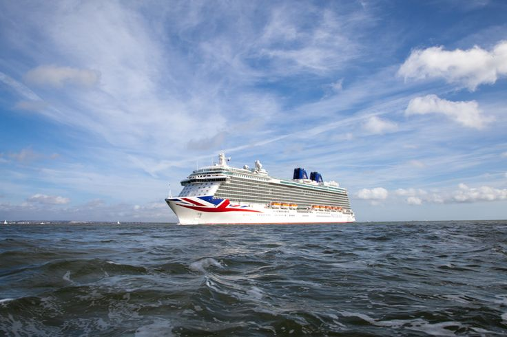 #Britannia rules the waves as she made her historic arrival into Southampton prior to being named by Her Majesty The Queen, accompanied by His Royal Highness The Duke of Edinburgh, in a glittering ceremony on Tuesday March 10. Find out more at http://the-cruise-specialists.co.uk/c/ship-details-query/?client=the-cruise-specialists&nShp=578&nLin=21&nOperator=P+and+O