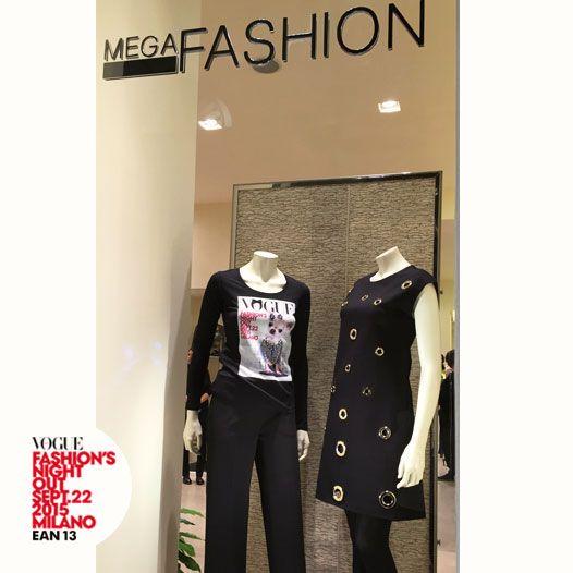 #Ean13 partecipa alla notte bianca della moda organizzata da Vogue a Milano.  Grazie alla boutique Mega Fashion, il ricavato della vendita della nostra t-shirt sarà devoluto a charity e onlus. #VFNO15 #Ean13