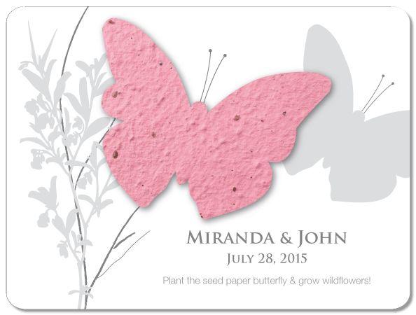Custom Favour- Butterfly- EcoCelebrations