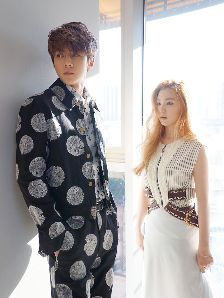 SMTOWN NOW Vyrl Update : CéCi Magazine, February 2016 Issue - Sehun with Irene of Red Velvet (1/2)