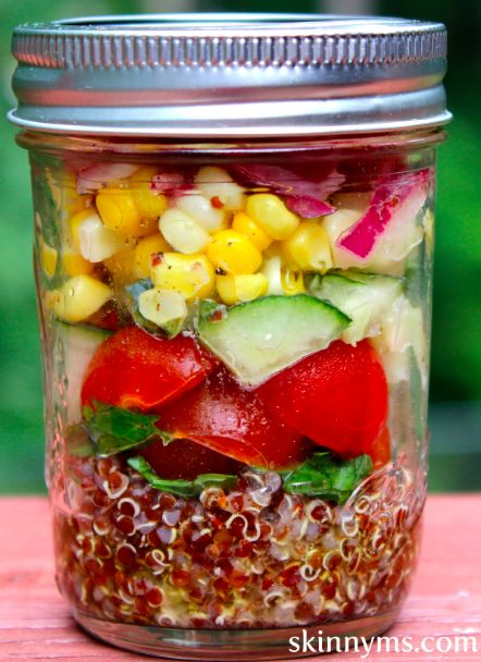 Mediterranean Quinoa Salad with Seasonal Vegetables