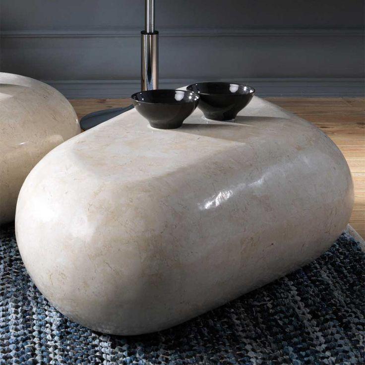 Wohnzimmer Couchtisch Aus Stein Creme Jetzt Bestellen Unter Moebelladendirekt