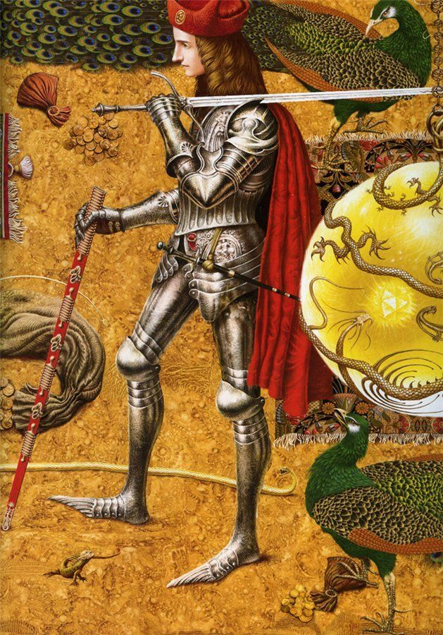 Child Roland and Other Knight's Tales by Vladyslav Yerko