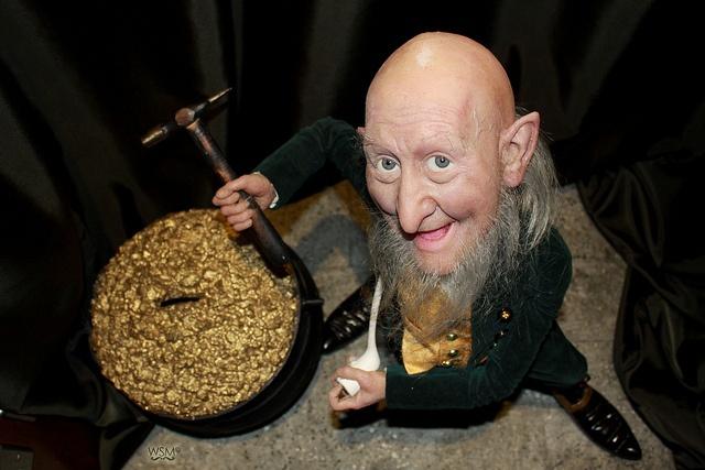 Leprechaun com pote de ouro, no National Leprechaun Museum, na Irlanda. www.leprechaunmuseum.ie #museum