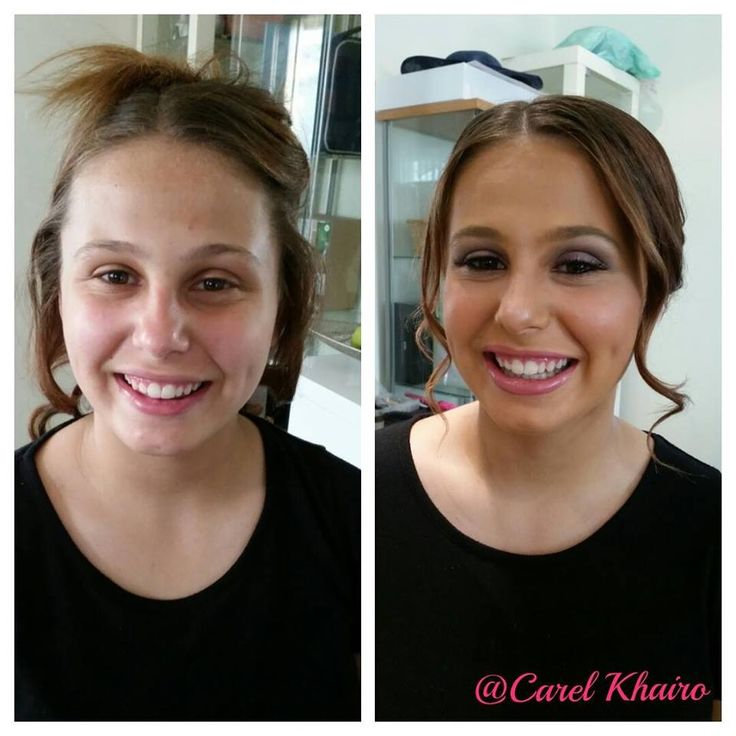 Before an After School Formal Beauty.