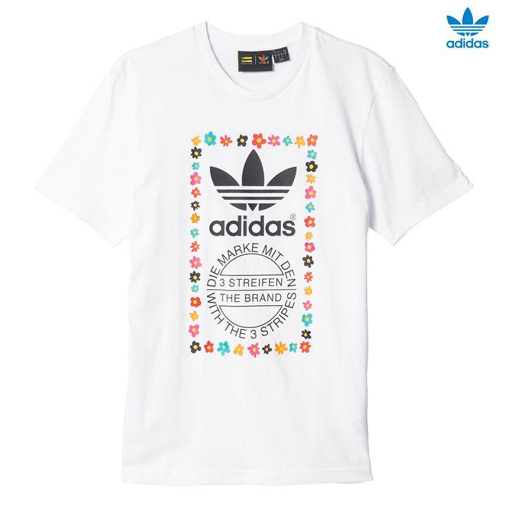 Pharrell Williams, Adidas Originals, Graphic Tees, Margaritas, Ads, Adidas  Men, Garlands, Slippers, Stamping