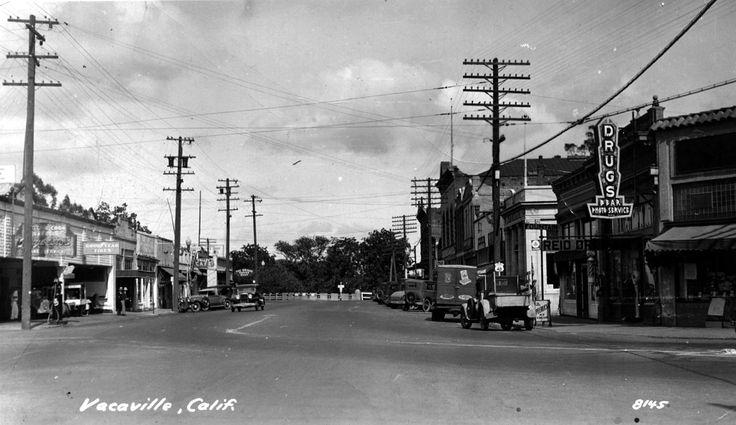 Vacaville, CA - 1933