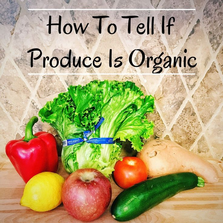 How To Tell If Produce Is Organic Organic plants