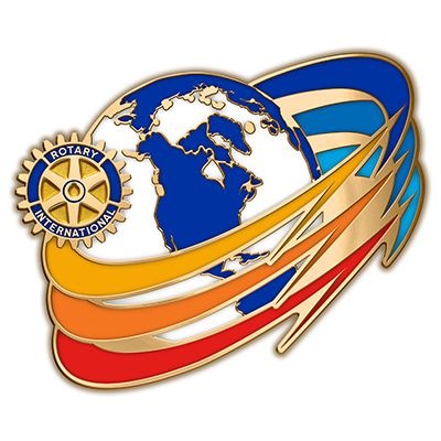 Russell-Hampton Co. Rotary Club Supplies: 2016-17 Theme Full Color Lapel Pin