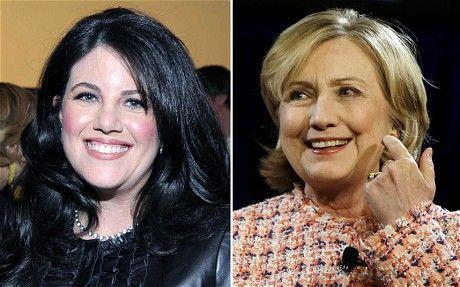 Monica Lewinsky v Hillary RodHAM Clinton