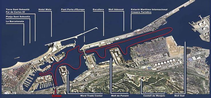 las golondrinas barcelona ruta port  TIPUS ACTIVITAT: activitats / actividades