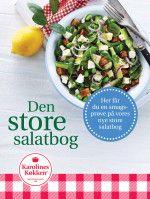 Den store salatbog Her får du en smags- prøve på vores nye store salatbog