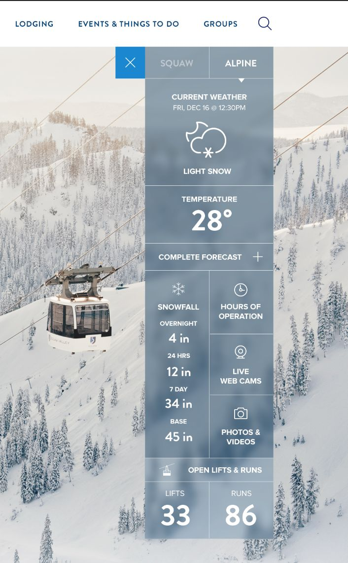 Weather Widget by Owen Perry
