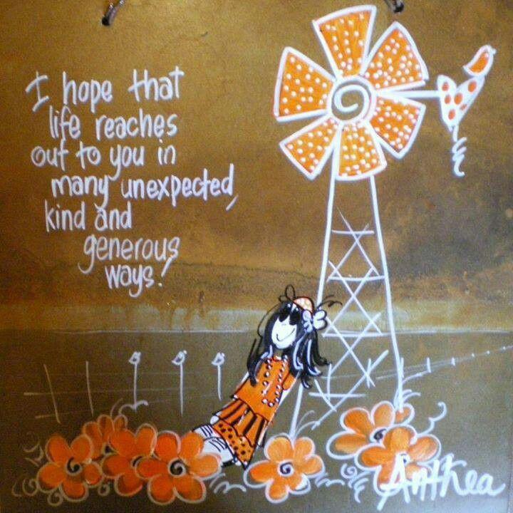 I hope... #BestWishes - deur Anthea Art __[AntheaKlopper/FB]