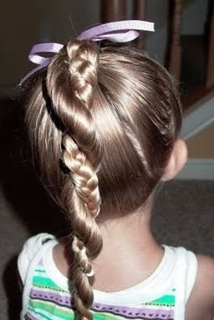 Whether it's a walk down the aisle as flower girl or just the first day of school, these adorable hairdos have got your little one's locks covered.