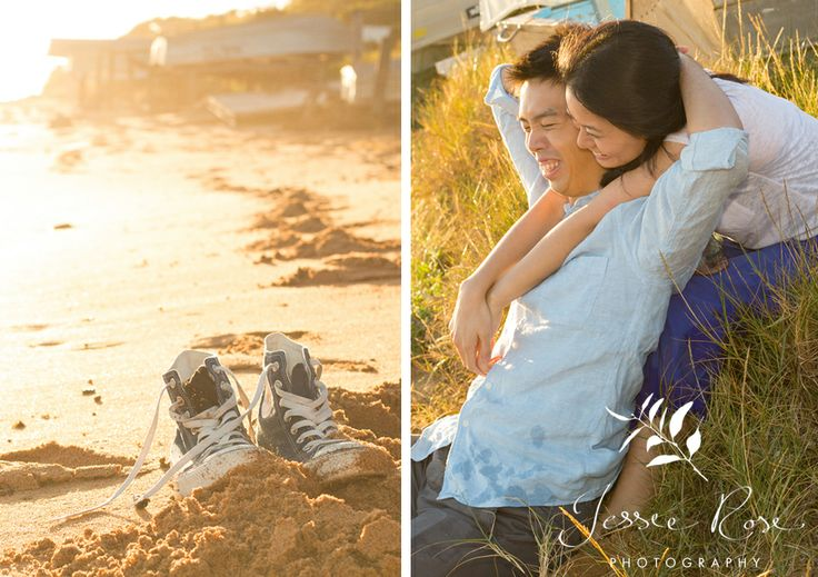 Sunrise Engagement Session with Dion & Vidi @ Jessie Rose Photography #beach #familyportrait #esession #engagementsession