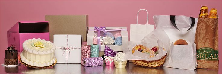 Bakery Supplies - Boxes, Bags, Ribbons and More --> http://www.papermart.com/bakery-supplies/id=34672-INDEX#34672