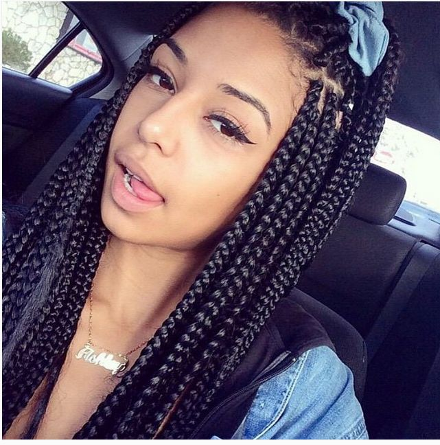 really wanna get box braids, but there is a large chance i will look crazy af...