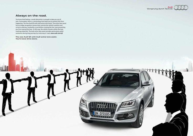 Audi Q5: Lane Assist #audi  #claseAlta #hombre #madmen