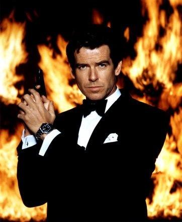 Pierce Brosnan, as James Bond