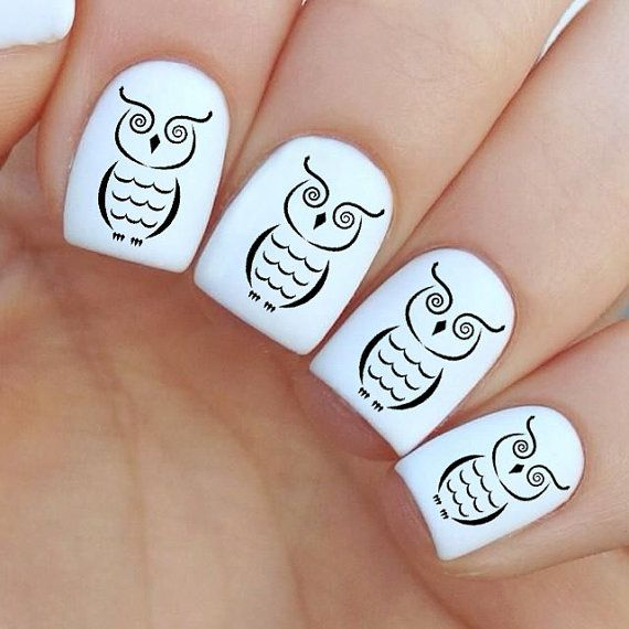 Uñas con stickers - Nails with Stickers