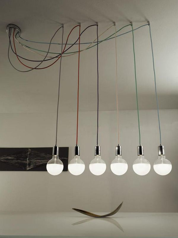 I want lights that hang from my wall. I also do not like the light bulbs and lighting in my room.