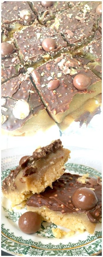 Love Maltesers? Try this No Bake Malteser Millionaire's Shortbread recipe with rich shortbread, delicious caramel, and Malteser chocolate for a delicious malteser treat!