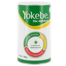 Yokebe Classic Pulver (Packungsgröße: 500 g) :: #Yokebe Classic Pulver (Packungsgröße: 500 g) ist ein #Diätmittel, das auf eine spezielle Kombination aus hochwertigen Proteinen, Bienenhonig, wichtigen Vitalstoffen und einem patentierten #Probiotikum setzt. Die Aktivkost hilft, im Rahmen einer kalorienreduzierten #Ernährung den Körper mit allen wichtigen Nährstoffen zu versorgen.