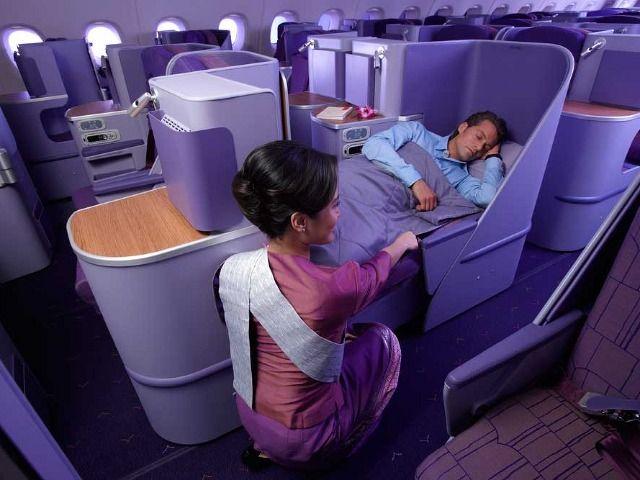 Review: Thai Airways Airbus A380 Royal Silk business class seats - Flights | hotels | frequent flyer | business class - Australian Business Traveller