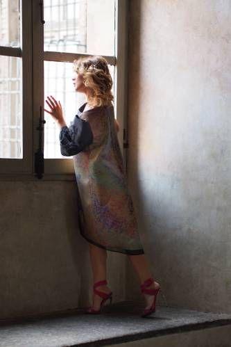Exclusive dress by Monica Porcu Italy Torino