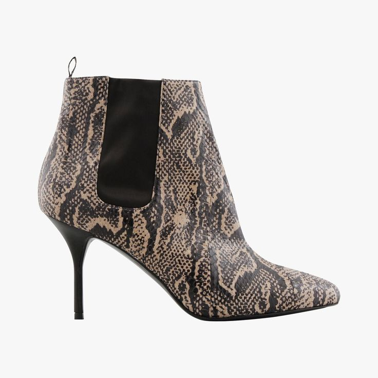 Bottines serpent - @pierrehardynews  #LeBonMarche #tendance #trend #rock #gypset #style #travel #fashion #mode #femme #women #shoe #shoes #bottines #talons #heels