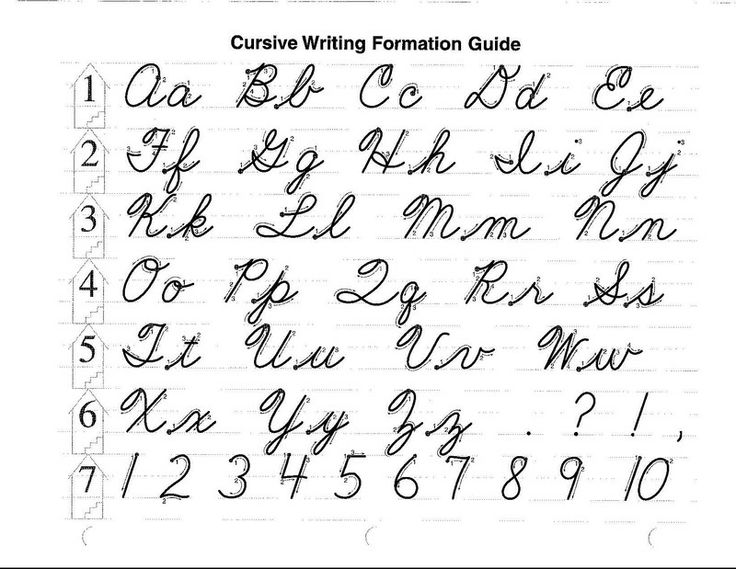 Abeka Cursive Letters - just extend the T on the top right