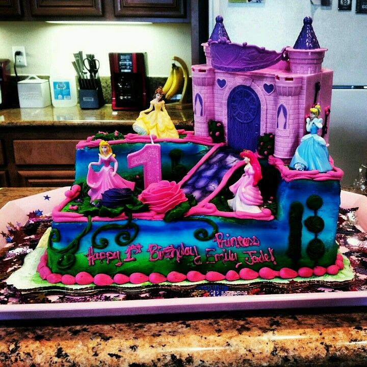 Disney Princess Birthday Cake From Walmart Princess