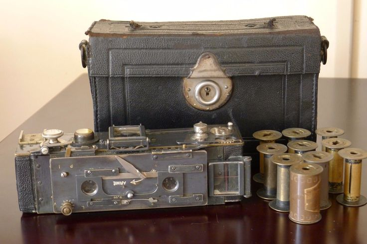 JULES RICHARDPARIS HOMEOS 35mm Stereo Camera c.1920 RARE/COLLECTIBLE!
