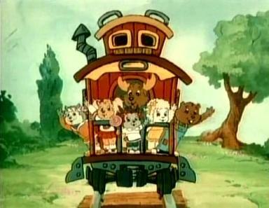 The Get Along Gang (Nossa Turma) / 1984 / DiC Entertainment #cartoons