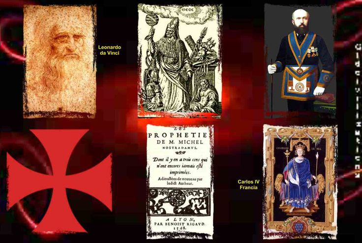 Imagen 2- Los caballeros Templarios- El priorato de Sión - la cruz roja y ra rosa mística