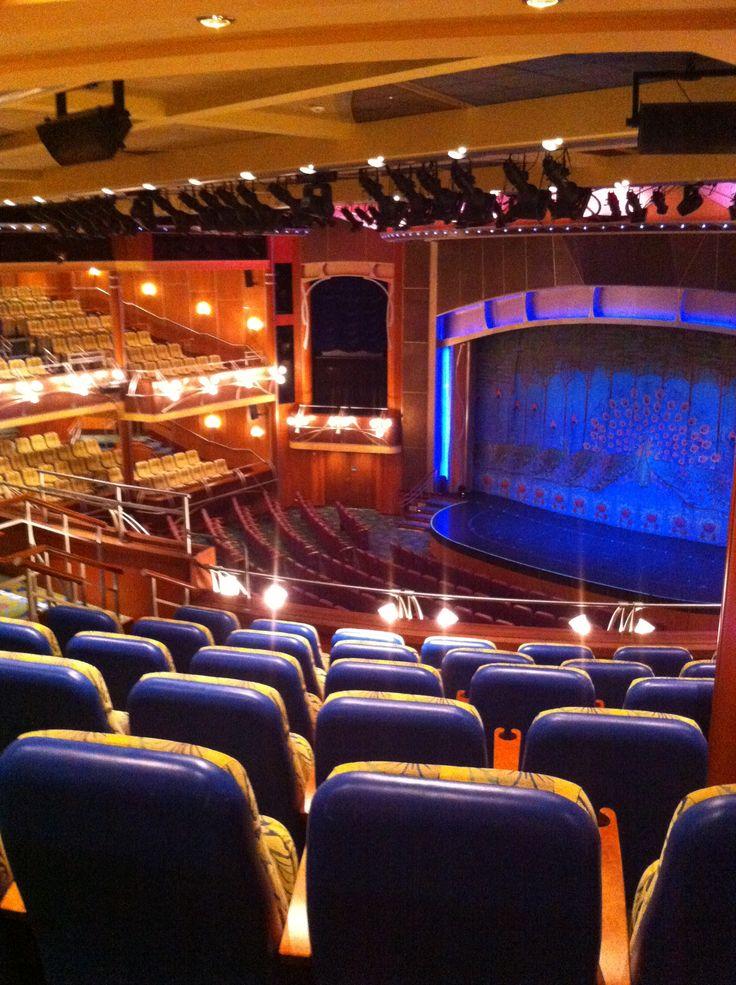 Royal Caribbean International - Adventure of the Seas, The Theatre