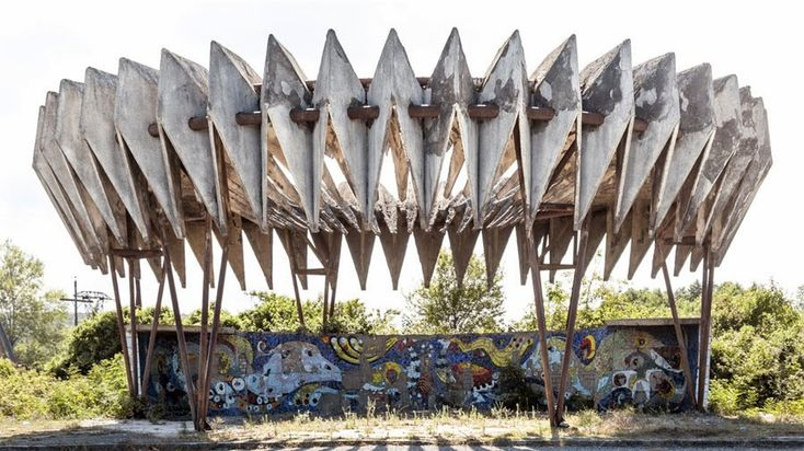 Dark Roasted Blend: Extremely Weird Bus Stops & Shelters