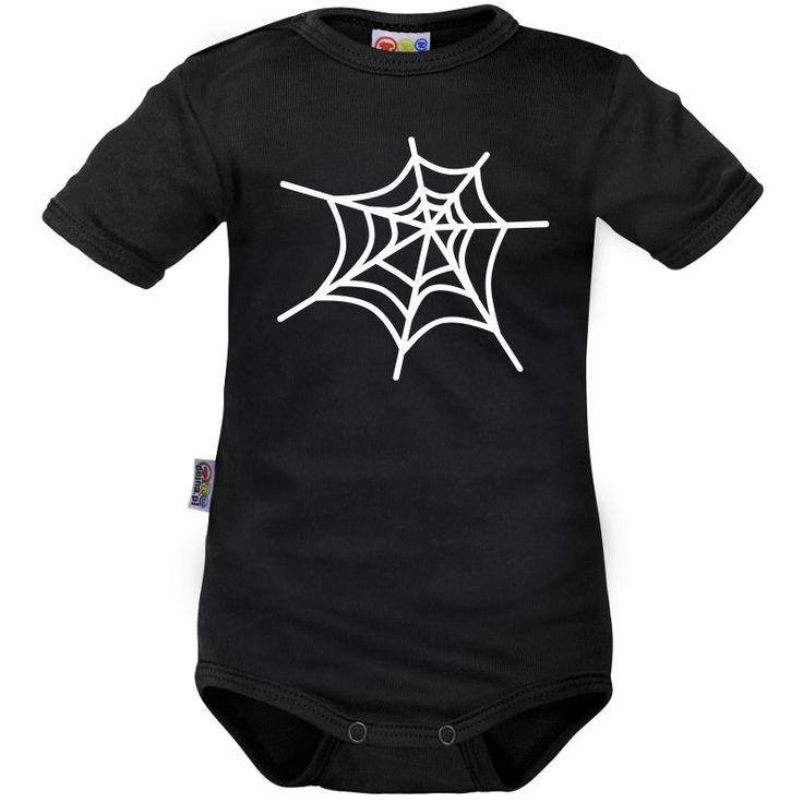 Body bébé : toile d'araignée