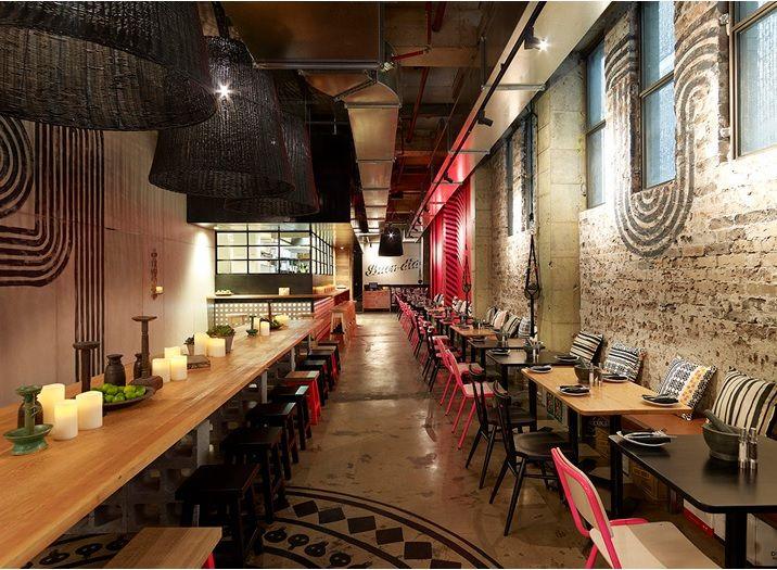 Decoração de Restaurante Mexicano arquitetura e design mexicano (7)
