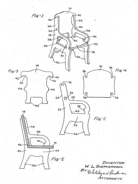 meggiecat: Paper Chair Templates