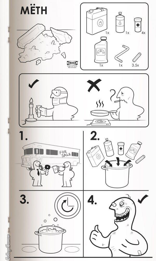 這些東西也有IKEA說明書?由你出生惡搞直到死亡!