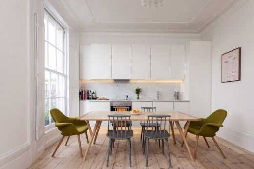 North London Flat Renovation converting studio apartment to 1 bedroom flat, by Architecture for London | Listed | London | Interiors | Period Features | Open Plan | Apartment living