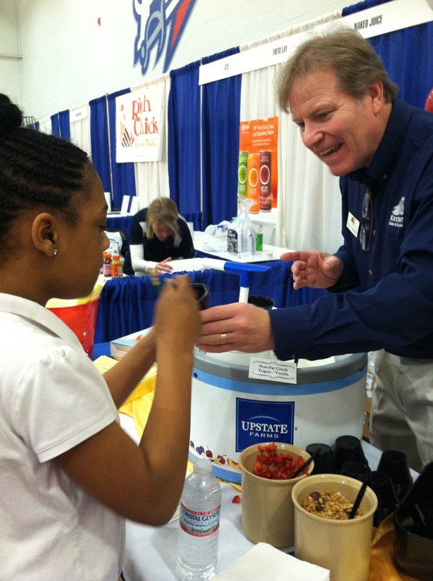 Shelby County School's Food Fair gives kids a chance to sample new products  before they show