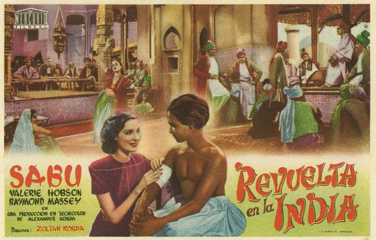 """Revuelta en la India (1938) """"The Drum"""" de Zoltan Korda - tt0030082"""