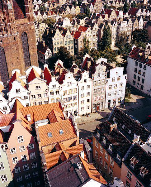 Attractive Gdansk http://www.travelandtransitions.com/european-travel/