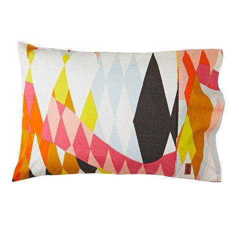 Kip & Co Croc Pillowcase Set in Orange | Available at www.LETLIV.co.nz