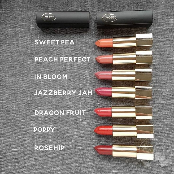Tropic lipstick from the fastest growing beauty