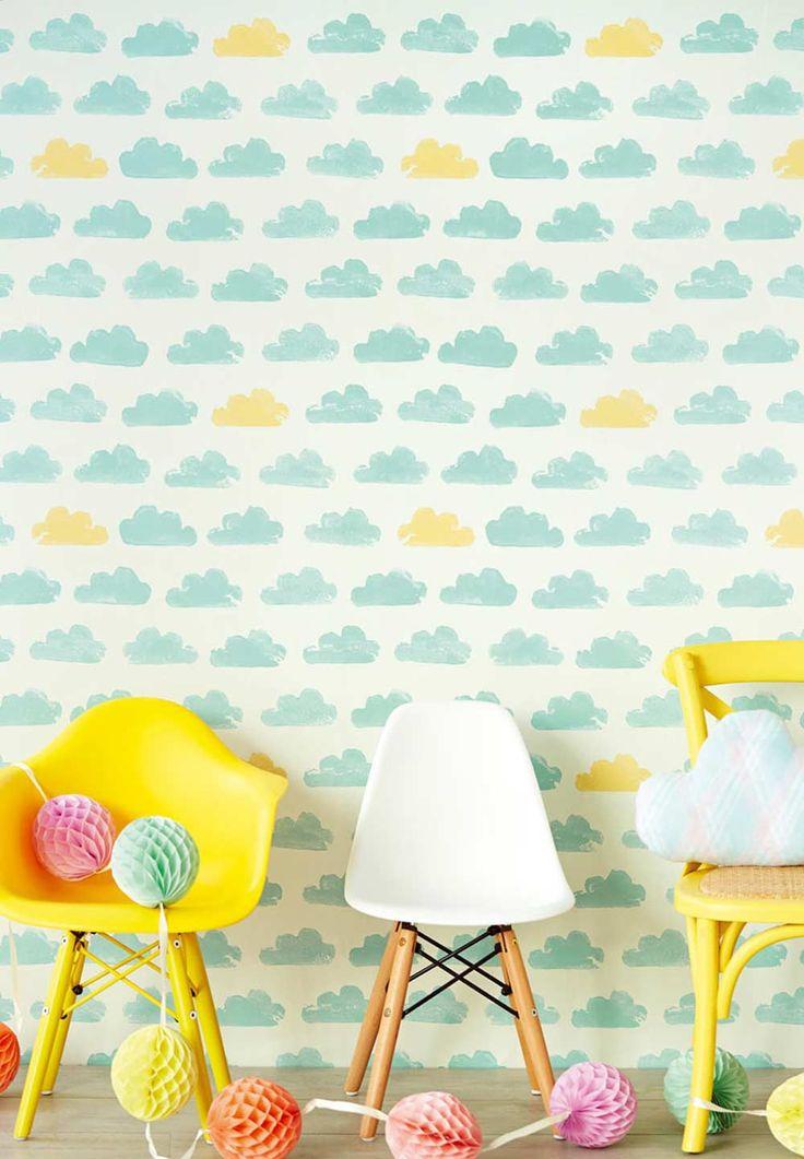 Fancy Wunderbare Tapeten f r Kinderzimmer u Babyzimmer