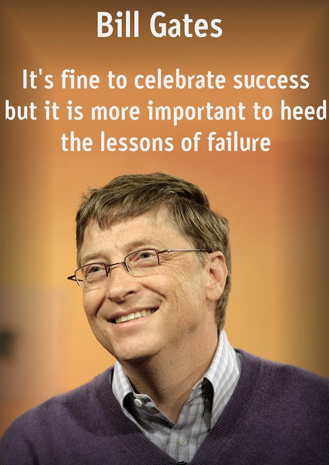 A La Meet The Robinsons You Never Learn From Success Bill Gates